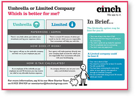 umbrella vs limited company